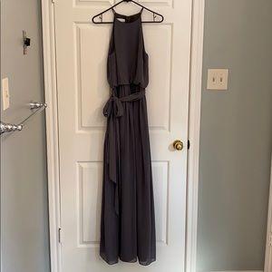 Donna Morgan charcoal dress